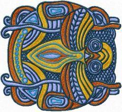 Bug embroidery design