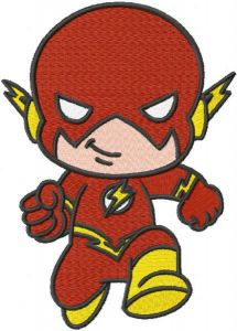 Baby flash embroidery design