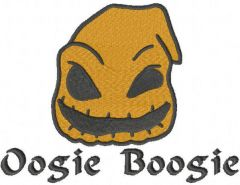 Baby oogie boogie embroidery design
