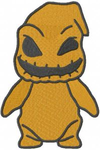 Baby Oogie embroidery design