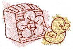 Baby toys 2 embroidery design