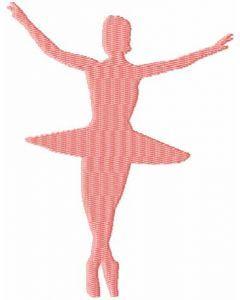Ballerina 7 embroidery design