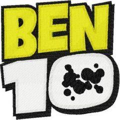 Ben 10 Logo embroidery design