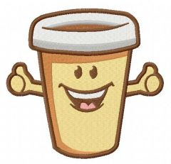 Best coffee 2 embroidery design