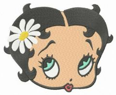 Betty with chamomile embroidery design