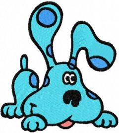 Blues Clues embroidery design 4