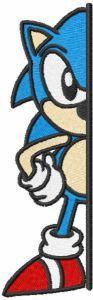 Brave Sonic embroidery design