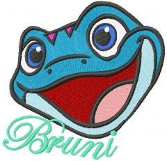 Bruniiii embroidery design