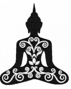 Buddha 1 embroidery design