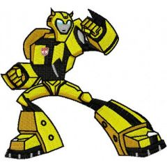 Transformers - Bumblebee embroidery design 1