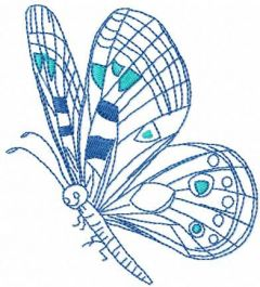 Butterfly 33 embroidery design