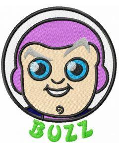 Buzz embroidery design 2