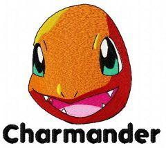 Charmander 2 embroidery design