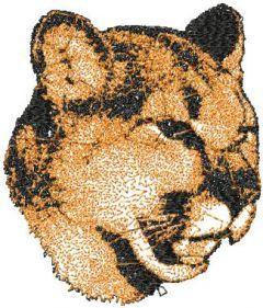 Big Cheetah embroidery design