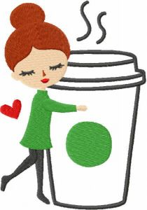 Coffee Lover free embroidery design