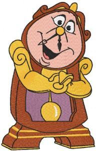 Cogsworth embroidery design