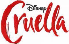 Cruella logo embroidery design