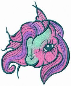Cute My little pony embroidery design