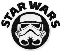 Darth Vader 5 embroidery design