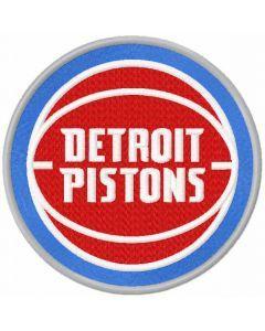 Detroit Pistons 2017 logo embroidery design