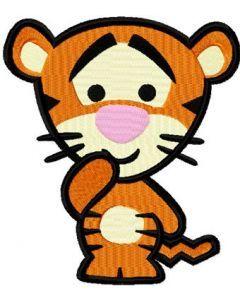 Disney Cuties Tiger embroidery design