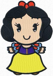 Disney Cuties Snow White ! embroidery design