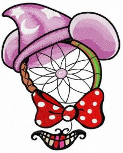 Disney dreamcatcher 3 embroidery design