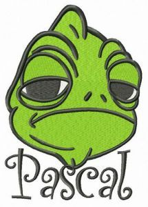 Displeased Pascal embroidery design