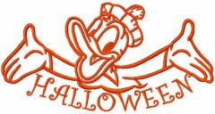 This is my Halloween embroidery design