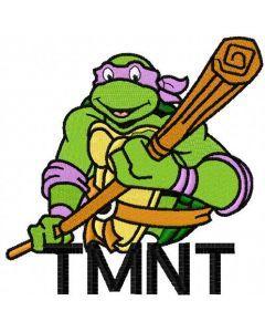 Donatello 5 embroidery design