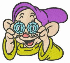 Dopey embroidery design