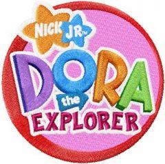 Dora the Explorer Logo 2 embroidery design
