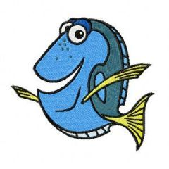 Dory 1 embroidery design
