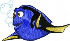 Dory 6 embroidery design