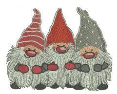 Dwarves 2 embroidery design