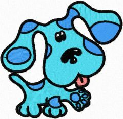 Blues Clues embroidery design