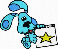 Blues Clues embroidery design 2