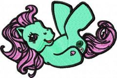 My Little Pony Funny Game embroidery design