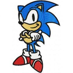 Sonic the Hedgehog 1 embroidery design