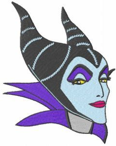 Evil Queen sight embroidery design