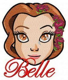 Fancy Belle machine embroidery design 4