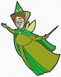 Fauna Good Fairy embroidery design