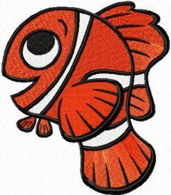 Marlin like Life embroidery design
