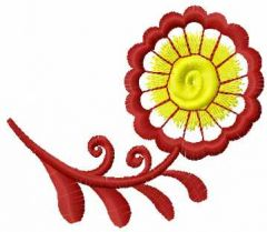 Flower 27 embroidery design
