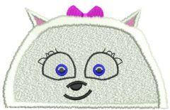 Gidget machine embroidery design 2