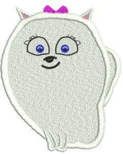 Gidget machine embroidery design