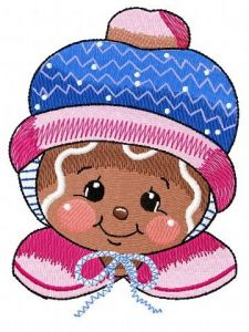 Gingers warm the heart 2 embroidery design