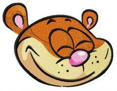 Glad hamster 3 embroidery design