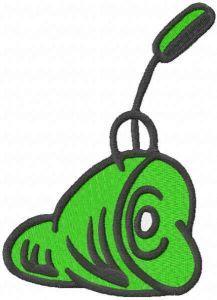 Green ham embroidery design