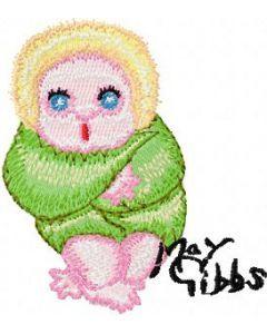 Gumnut Baby embroidery design